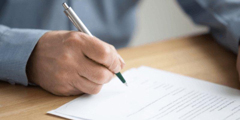 Melengkapi Surat Pernyataan