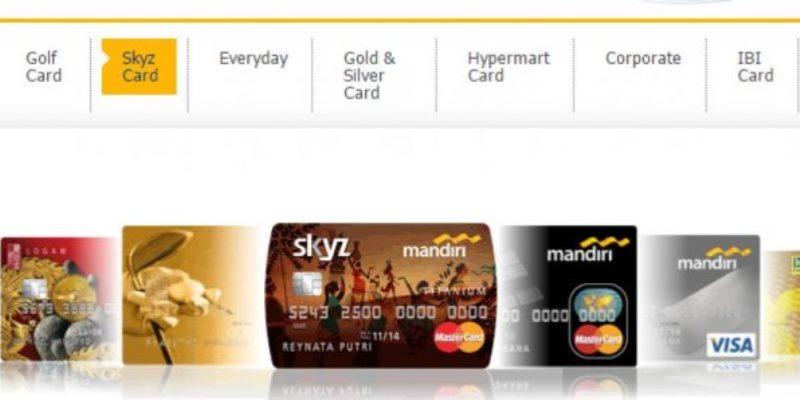 Jenis Kartu Kredit Bank Mandiri
